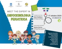 17 ottobre 2020 - MEET THE EXPERT IN ENDOCRINOLOGIA PEDIATRICA